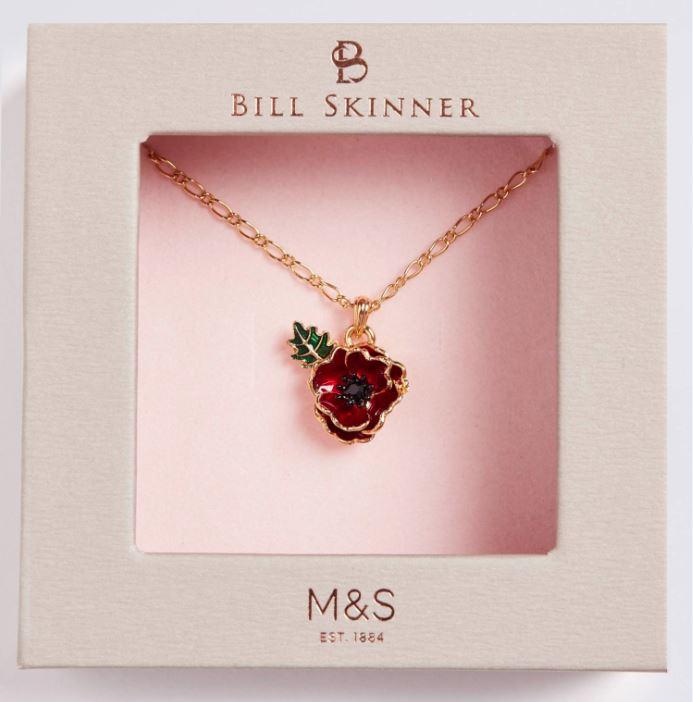 The Bill Skinner X Marks & Spencer Poppy Appeal