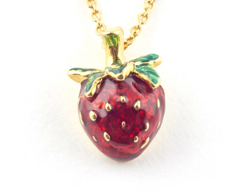 Strawberry Statement Jewellery