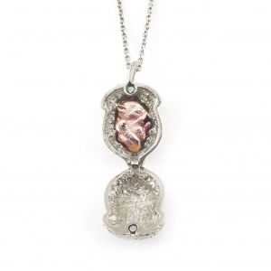 SQUIRREL NUT LOCKET (Rhodium)