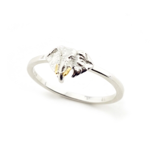 Elephant Ring Rhodium