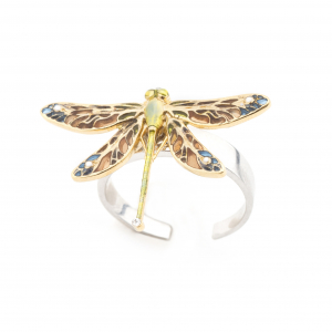 Dragonfly Open Ring