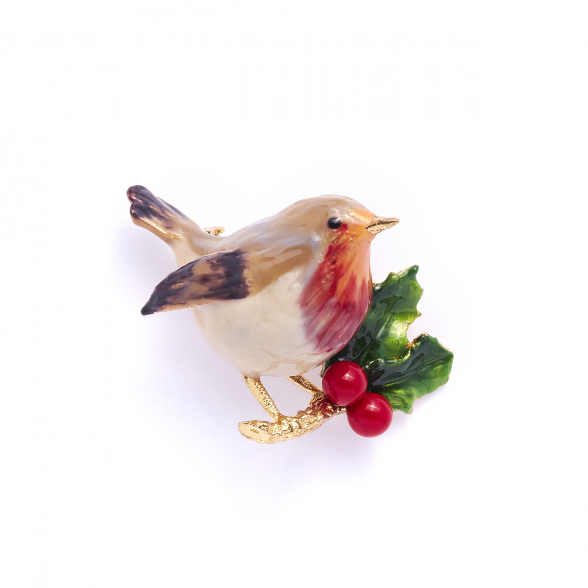 The Robin Brooch