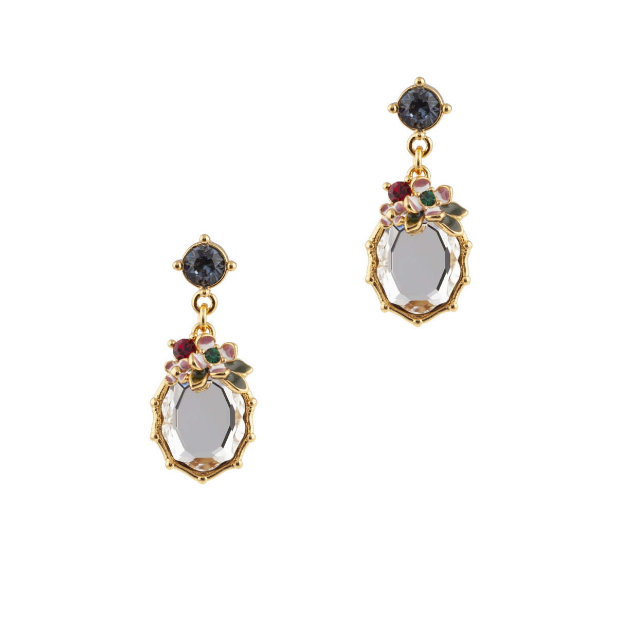 Statement  Crystal Woodland Earring