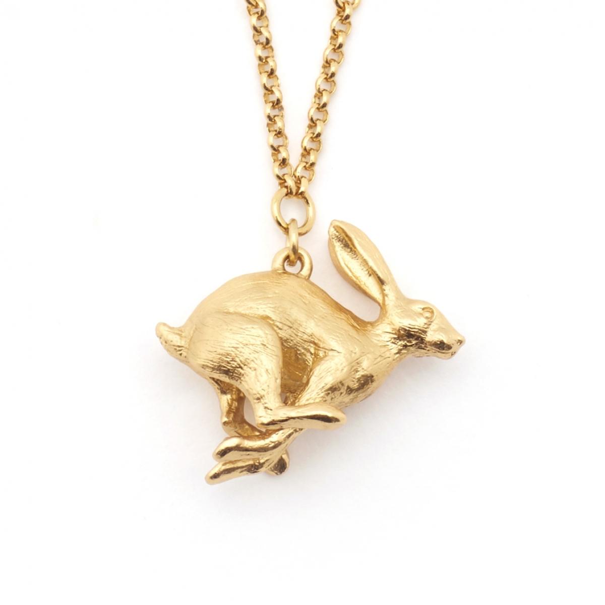 Running hare pendant fashion jewellery running hare pendant aloadofball Gallery