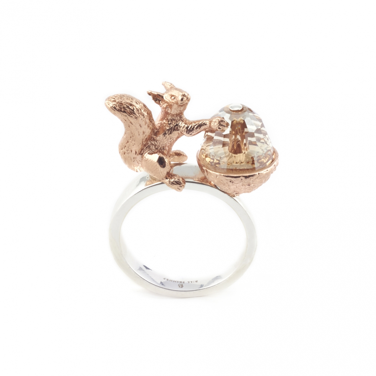 Acorn & Squirrel Ring