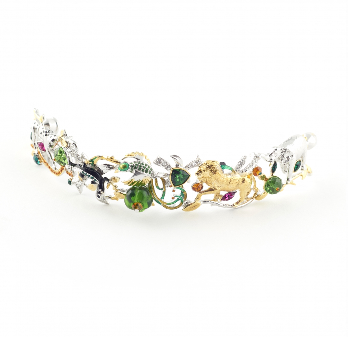 Jungle Statement Bracelet