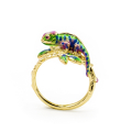 Alternate Image For Chameleon Open Ring