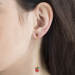 Alternate Image For Strawberry Drop Earring