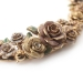 Alternate Image For Vintage Rose Statement Necklace