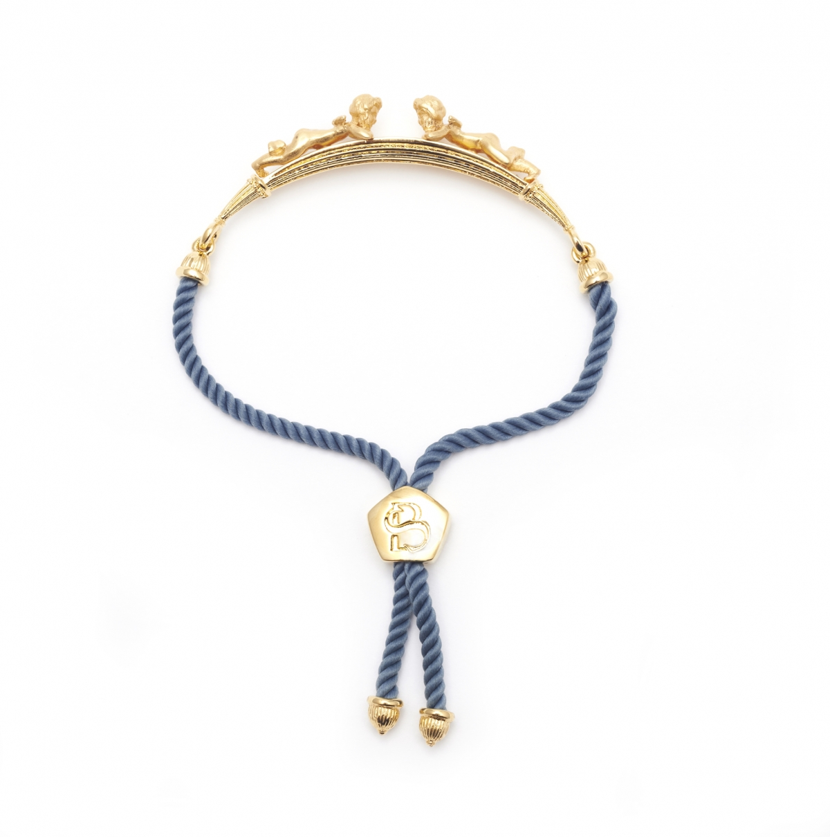 Mini Cherub Bracelet (Gold)