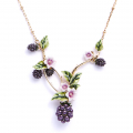 Alternate Image For Blackberry Statement Necklace