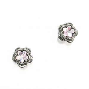 Botanical Floral Earring Rhuthenium
