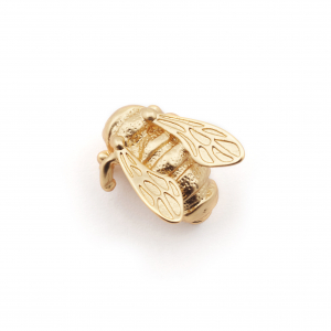 Queen Bee Pin Brooch - Gold