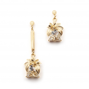 The Evelyn Edit Crystal Drop Earrings - Large