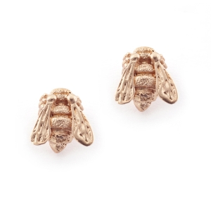 Baby Bee Studs Rose Gold