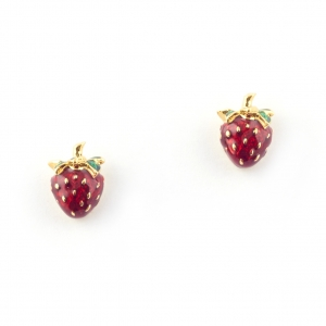 Summer Strawberry Earring