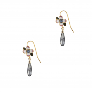 Woodland Floral Drop Earring