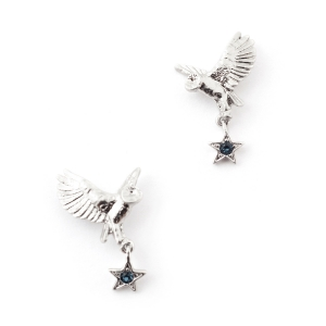 Night Owl Swooping Earrings