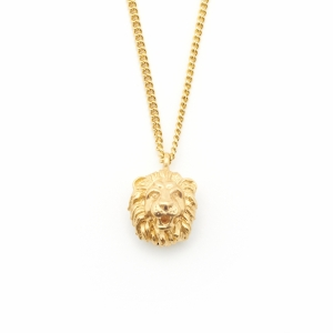 Mini Lion Charm Pendant