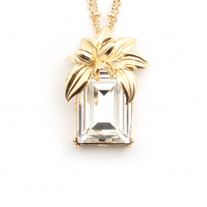The Evelyn Edit Crystal Long Pendant