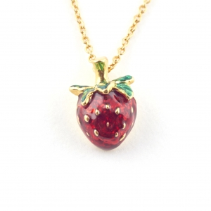 Summer Strawberry Mini Pendant