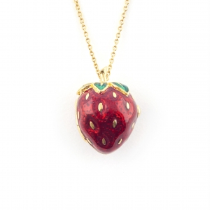 Summer Strawberry Locket