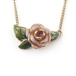 Vintage Rose Single Pendant