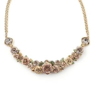 Vintage Rose Statement Necklace
