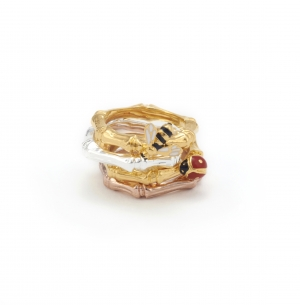 Bee & Ladybird Stacking Rings