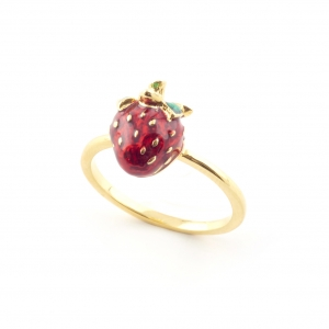 Summer Strawberry Ring