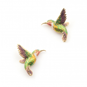 Large Hummingbird Stud