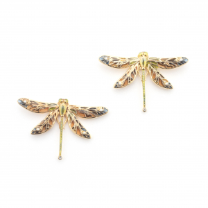 Dragonfly Statement Studs