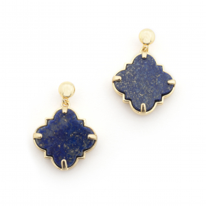 Filigree Morocco Earrings - Lapis