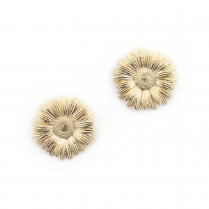 Daisy Large Studs - Gold