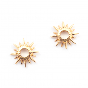 Starburst Stud Earring - Gold