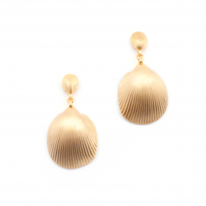 Statement Seashell Earrings