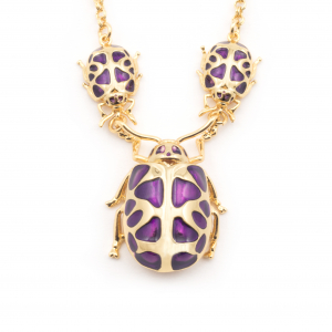 Multi Bug Statement Necklace