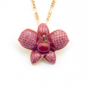 Single Orchid Pendant