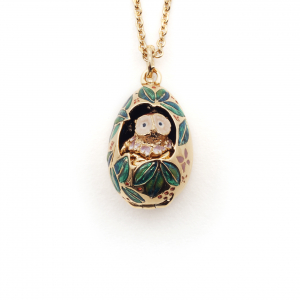 Owl & Nest Locket