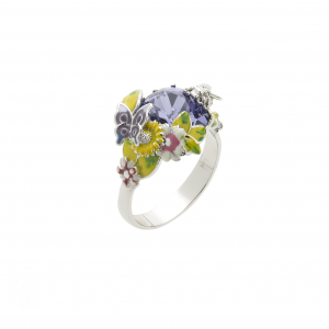 Scenes of Nature Ring - Violet - Medium Only