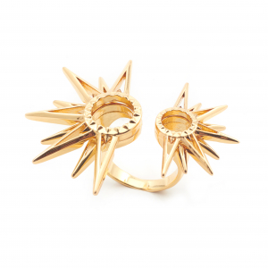 Starburst Statement Ring - Gold