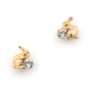 Rabbit Stud - Gold
