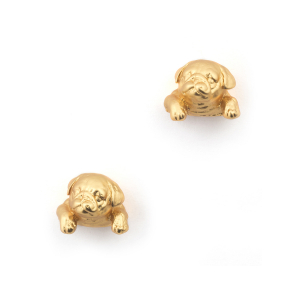 Puppy Pug Stud - Gold