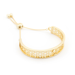 Filigree Bangle - Gold