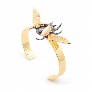 Flying Beetle Cuff
