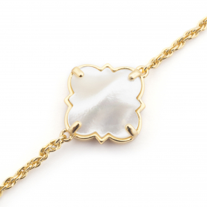 Filigree Morocco Bracelet - Mother of Pearl