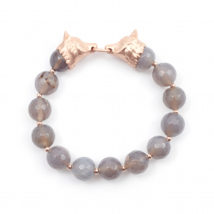 Fox Stretch Bracelet - Rose Gold