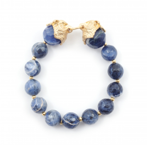 Owl Stretch Bracelet - Gold