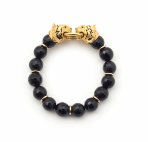 Tiger Stretch Bracelet (black)
