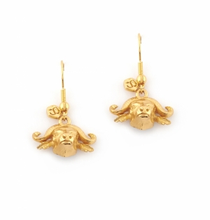 Mini Charm Buffalo Earrings